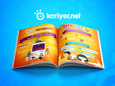 Kariyer.net Magazine Design