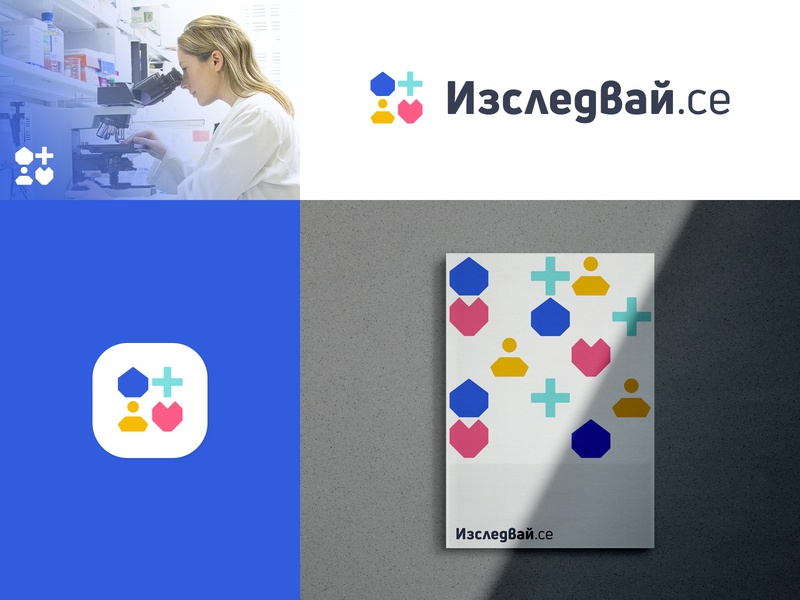 Concept Branding Design For Blood Testing Webapp professionals health product design product colors blood test results test results heart person medical cross drop branding shapes typography graphic designer logo photoshop illustrator design