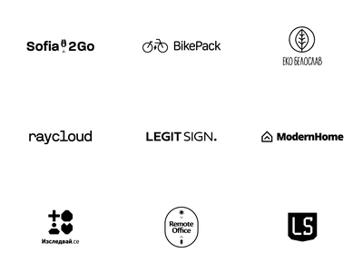 Logos & Branding Design Concepts Collection of 2020 brand design branding portfolio company concepts logos 2020 software product design saas illustration designer typography illustrator graphic brand identity office brand cloud