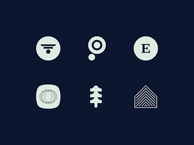 Logo Marks Design Concepts in Color cloud brand office brand identity graphic illustrator typography designer illustration saas design product software 2020 logos concepts company portfolio branding brand design