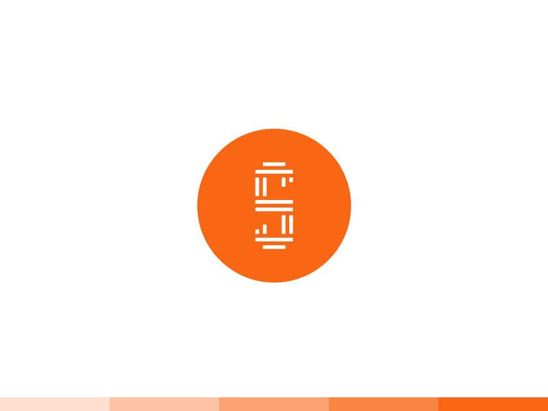 """S""  Logo Design circle orange dribbble simple shapes illustration graphic logotype logomark designer typography photoshop illustrator design icon logo branding logo template globe web"