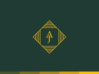 """""""AJ"""" Monogram Logo Design"""