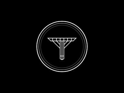 """T"" Logo Design logodesigns modern badge vintage logodesign black white circles t shapes illustration simple dribbble typography graphic logo designer photoshop illustrator design"