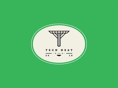 """T"" Logo Design in Color sketch vintage logo t visual identity visual design technology badge vintage badge tech vintage illustration simple dribbble typography graphic logo designer photoshop illustrator design"