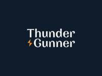 """""""Thunder & Gunner"""" Logo Design"""