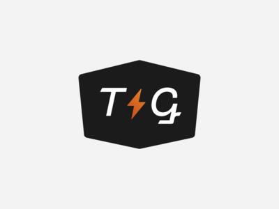 """""""Thunder & Gunner"""" Logo Design logomark logotype shapes shape gunner thunder bolt lightning vintage badge illustration simple dribbble typography graphic logo designer photoshop illustrator design"""