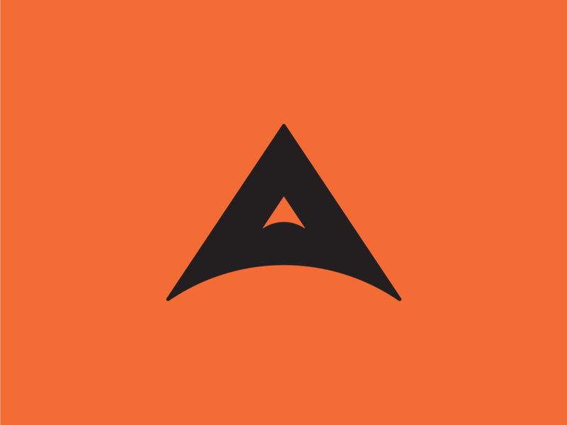 """A"" Logo Design Concept vintage logo branding design brand design logo design graphic design available purchase concept rocket a ui simple dribbble typography graphic logo designer photoshop illustrator design"