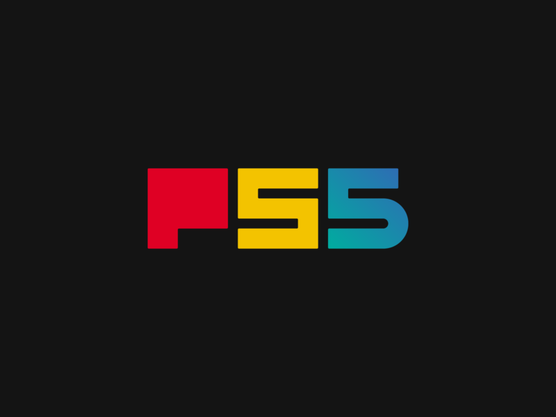 Playstation 5 (PS5) Square Version Logo Design Concept branding concept iconography branding agency branding design simple typography graphic design illustrator type ps5 ps4 playstation 5 playstation 4 playstation mark logotype logo icon branding