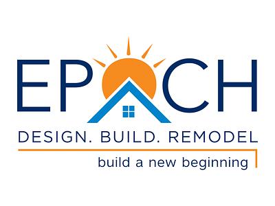 EPOCH branding logo illustration vector typography design