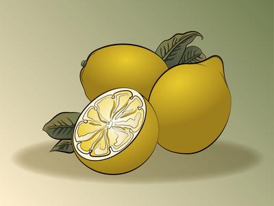 Lemon - Art Nouveau