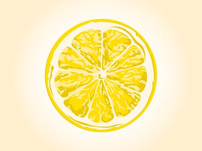 Lemon - Impressionistic
