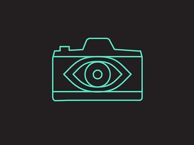 Photography Logo icon vector eyeball logo photography