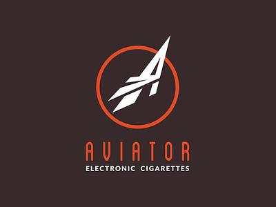 Aviator Logo retro logo