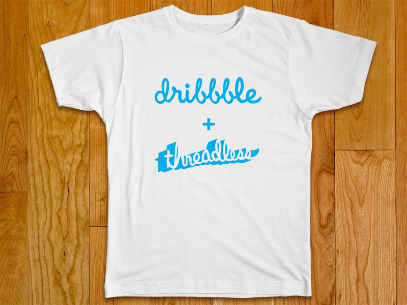 Join the Dribbble + Threadless t-shirt playoff! threadless dribbble playoff t-shirt logo challenge design prize cash money