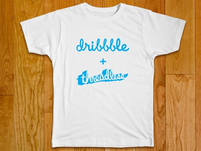 Join the Dribbble + Threadless t-shirt playoff!