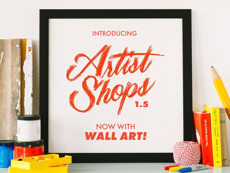 Wallart dribbble copy