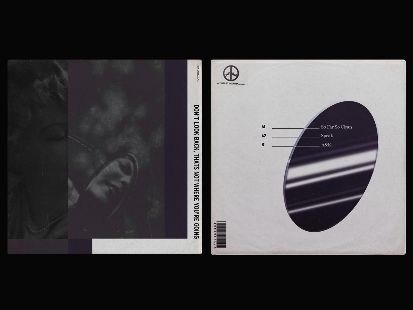 Alternative vinyl cover music minimalist contemporary graphicdesgin graphic design cover vinyl