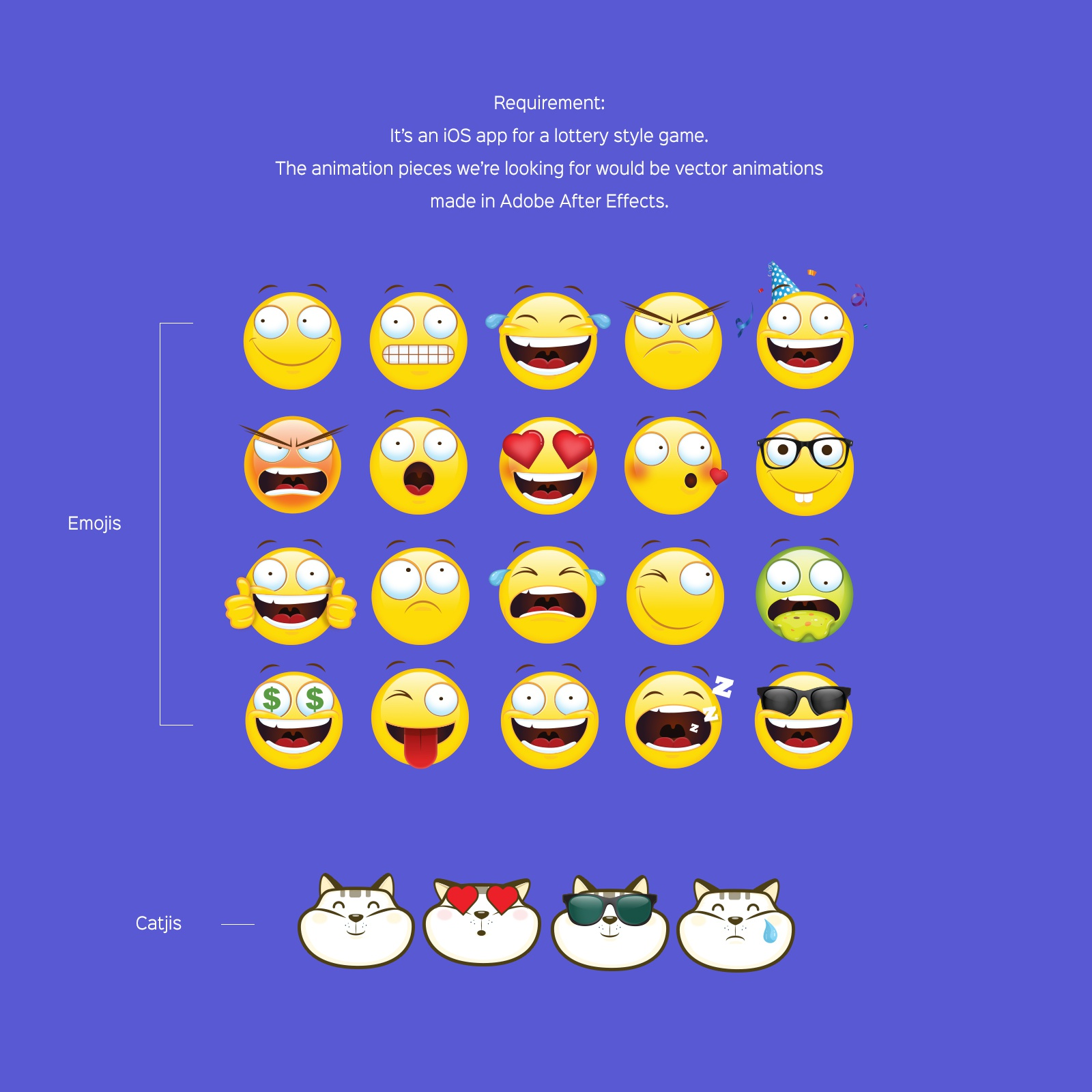 Parminder Kaur / Projects / Lucky Emojis Animation | Dribbble