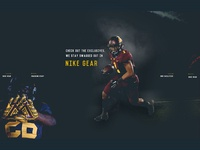 Sports Landing Page Design - Row the Boat