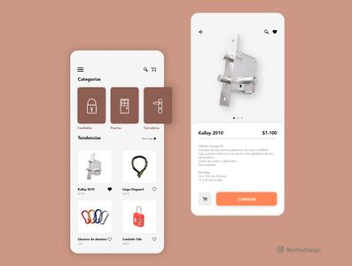 Ecommerce App prototype