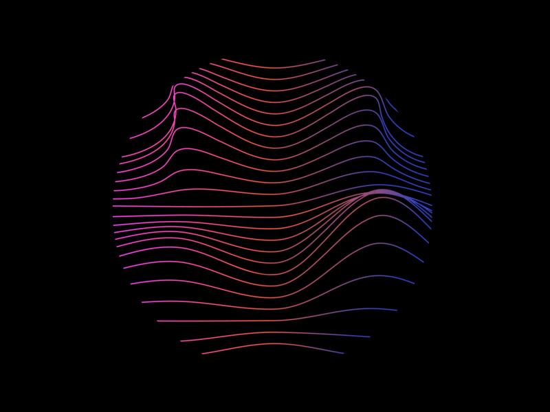 Digital Sunset graphic adobe graphicdesign visuals design illustrator art