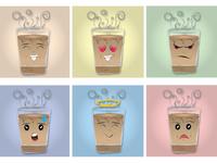 Tea Emoji Illustration