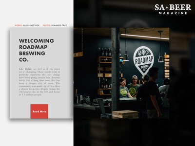 Welcoming Roadmap Brewing Co.