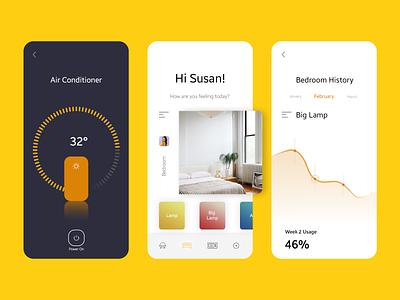[Updated] Smart Connect App clean ux ui flat design app minimal