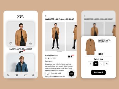 Mobile App - Online shopping online shop clothes