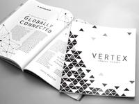 VERTEX Annual Report/Magazine Template