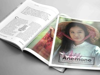 ANEMONE 32 Page Magazine Template
