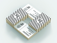 GLADIOLUS Business Card Template