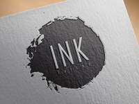 INK Logo design template