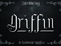 Griffin, a blackletter typeface