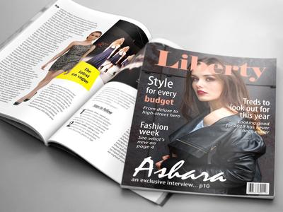 24 Page Fashion Magazine Template