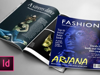 FASHION, 24 Page Magazine Template