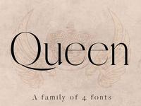 QUEEN: A Modern Serif Font