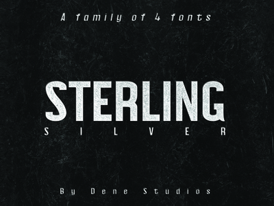 STERLING: A Powerful Sans Serif