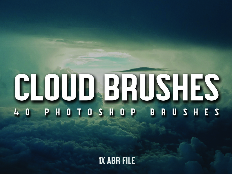 40 Cloud Brushes for Photoshop by James Dene on Dribbble
