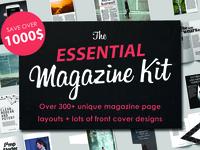 Premium Magazine Template Bundle