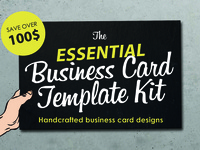 Business Card Template Bundle