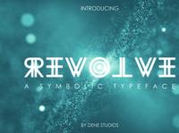 REVOLVE - A Symbolic Typeface