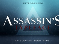 ASSASSIN'S - An Elegant Typeface