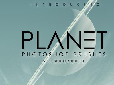 Planet Photoshop Brush Set