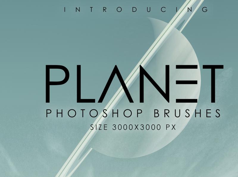 Planet Photoshop Brush Set planetarium planet brushes solar system pluto uranus venus jupiter earth mars planet earth photoshop brushes photoshop brushes brushe planets futuristic planet easy to use graphic design design