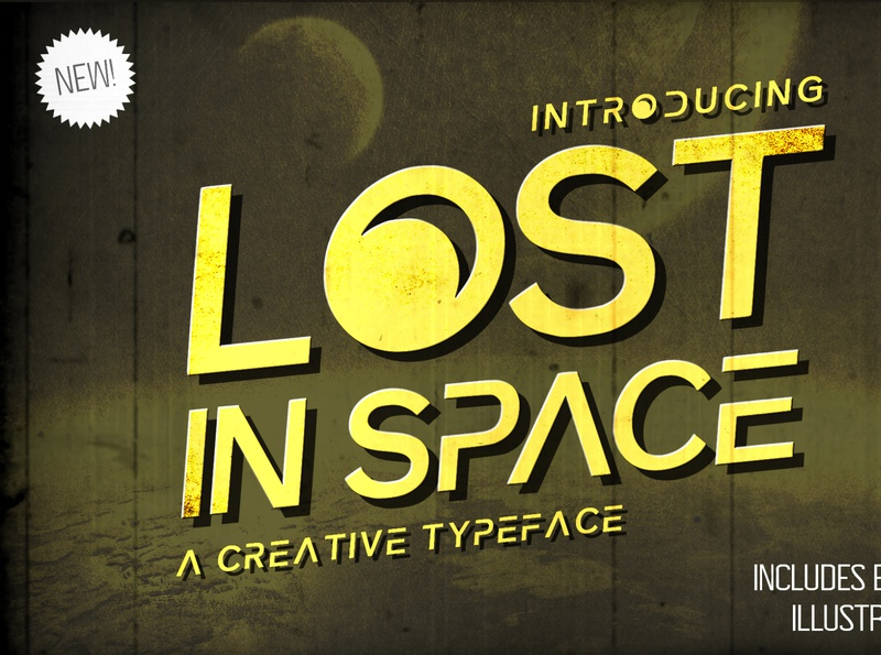 Lost in Space Typeface movies cool futuristic space futuristice futuristic font display font unique creative poster movie lost in space design typefaces typeface design brand font design typeface font graphic design