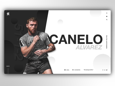 Canelo - Landing Page Concept