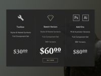 Daily UI :: 030 Pricing Table