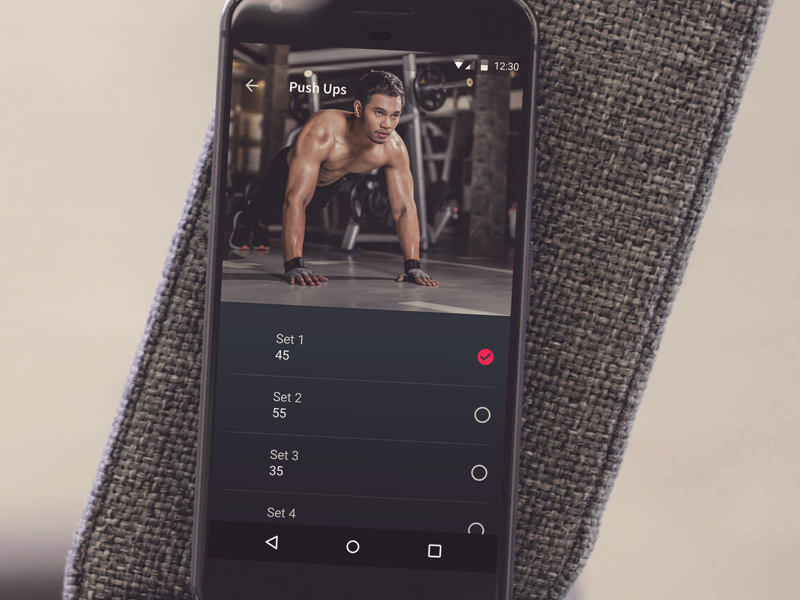 Daily UI :: 041 Workout Tracker