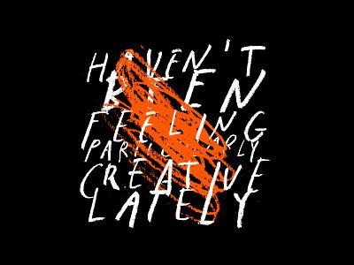 Creative Slump slump scribble creative texture type lettering design color typography